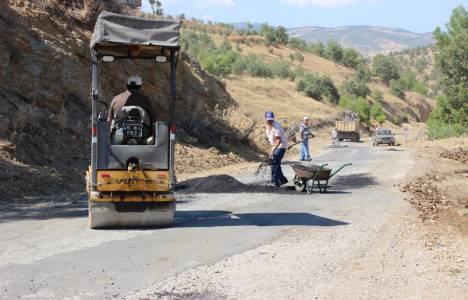 Gördes yolları asfaltlanıyor!