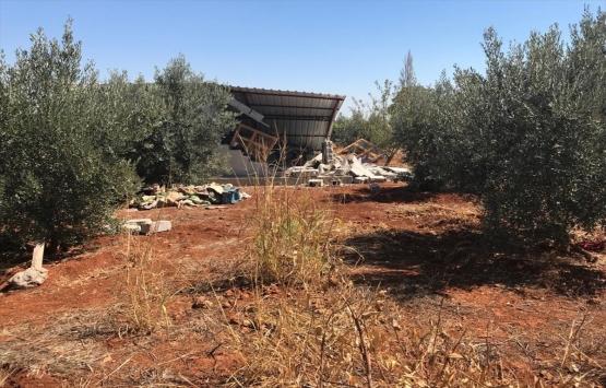 Antalya'da kaçak yapıya