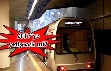 Mecidiyeköy Mahmutbey metro hattında son durum ne?