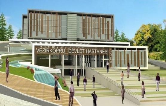 Samsun Vezirköprü Devlet Hastanesi yeniden ihaleye çıkıyor!