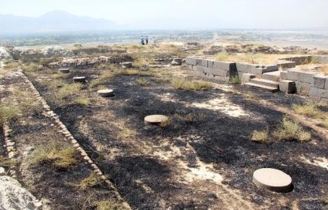Erzincan'da tarihi Altıntepe