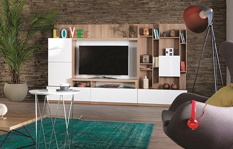İder Mobilya Kardia TV Ünitesi ile evinize hareket katın!