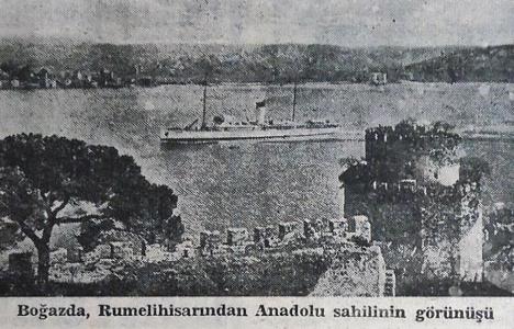 1941 yılında Boğaz'ın