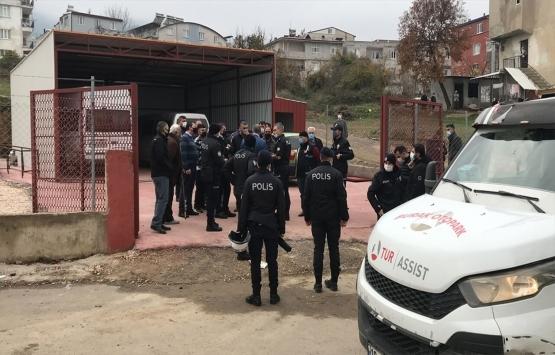 Bursa'da kaçak yapı yıkımında gerginlik!