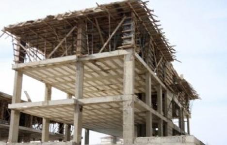 Konya Beyşehir'de inşaat