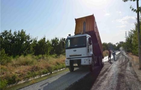Battalgazi Belediyesi asfalt