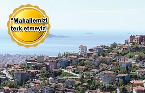 Gülsuyu ve Gülensu kentsel dönüşümünde vatandaş ne istiyor?