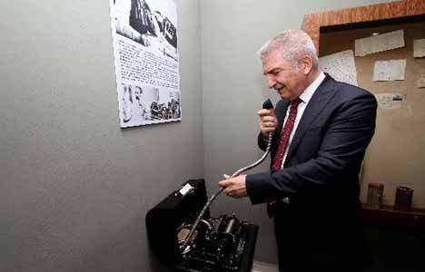 İzmir'de Haberleşme Müzesi açıldı!