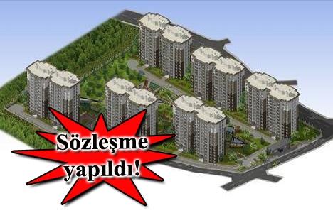Kiptaş Bahçeşehir Merkez Evleri için imzalar atıldı!