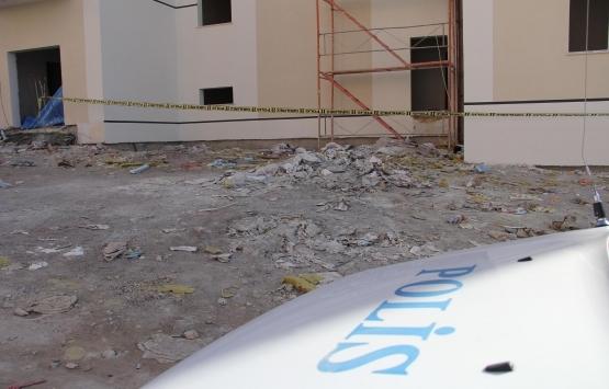 Kayseri'de 13'üncü kattan düşen inşaat işçisi hayatını kaybetti!