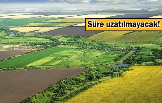 Tarım arazileri ve 2B taşınmazlarının satış başvuruları için son gün yarın!