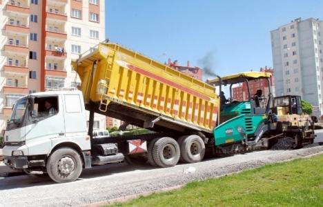 Mimsin-TOKİ arasına 2.7 kilometrelik yeni yol!