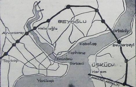 1969 yılında Boğaziçi Köprüsü hazırlığı ilerliyormuş!