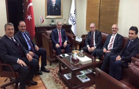 Mehmet Çerçi yeni projeler için Ankara'ya gitti!