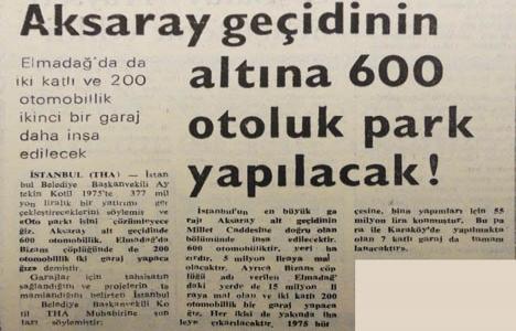 1975 yılından İstanbul'un
