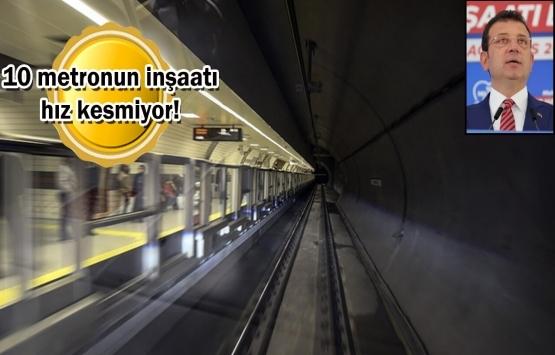 İstanbul'da raylı sistem çalışmaları tam gaz!