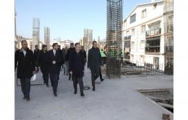 Kestel'e modern katlı otopark ve pazar alanı inşa ediliyor!