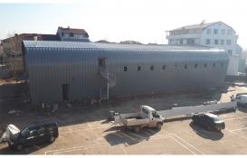 Kocaeli'deki Orhangazi Spor Salonu'nun inşaatı tamamlanıyor!