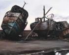 Antalya Limanı'ndaki eski tekneler kaldırılıyor