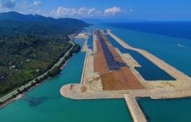 Rize-Artvin Havalimanı inşaatında yarıya gelindi!