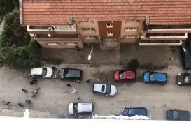 Zonguldak'ta inşaat işçileri ile esnaf birbirine girdi!