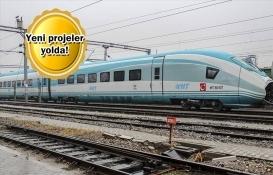 Türkiye'de hızlı tren yatırımları hız kesmiyor!
