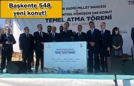 TOKİ Mamak Kentsel Dönüşüm Projesi'nin temeli atıldı!