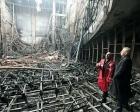 Denizli Belediyesi Sanat Merkezi çıkan yangınla küle döndü!