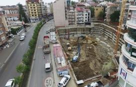 Trabzon Tam Otomatik Katlı Otopark'ın inşaatı başladı!