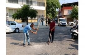 Nazilli'de bir vatandaş tapulu arazisinden geçen bulvarı ulaşıma kapattı!