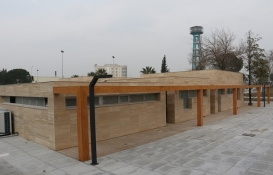 Manisa Sümerbank arazisine sosyal alan inşa ediliyor!