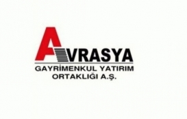 Avrasya GYO Alanya'daki 4 daireyi kiraya verdi!