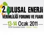 2. Ulusal Enerji Verimliliği Fuarı, 13 Ocak'ta yapılacak!