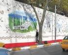 Dünyanın en büyük seramik panosu Ortaköy'de açıldı!