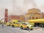 Doha'nın en büyük alışveriş merkezi Villaggio'da yangın çıktı!