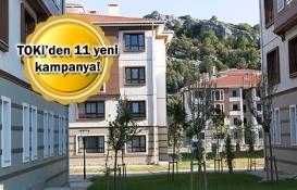TOKİ'den aylık 321 lira taksitle ev fırsatı!