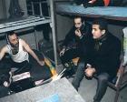 Mustafa Sarıgül Şişli'deki inşaat çadırlarını denetledi!