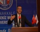 ÇOMÜ'de Ayvacık'taki depremler konuşuldu!