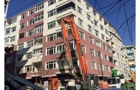 Bahçelievler'deki 24 riskli bina yıkılıyor!
