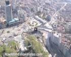 Taksim Yayalaştırma Projesi havadan görüntülendi!