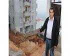 Kahramanmaraş'ta temel inşaatı vatandaşları tedirgin ediyor!
