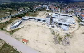 Isparta Şehirlerarası Otobüs Terminali'nin inşaatı tam gaz!