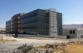 Kayseri Develi Devlet Hastanesi'nin yüzde 85'i tamamlandı!