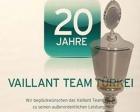 Vaillant Türkiye'ye Vaillant Group 2012 Sürdürülebilirlik Ödülü!