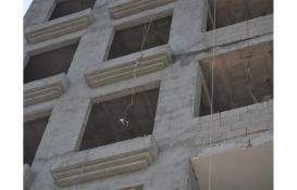 Gaziantep İslahiye'de halatı kopan inşaat asansöründen düşen işçi yaralandı!