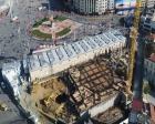 Taksim Camii inşaatında çalışmalar tam gaz sürüyor!