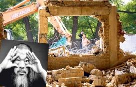 Ai Weiwei'nin Pekin'deki stüdyosu yıkıldı!