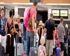 Antalya'ya havalimanlarından gelen turist sayısı azaldı!