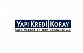 Yapı Kredi Koray GYO kar dağıtım tablosu yayınladı!