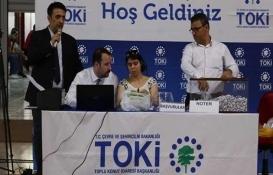 TOKİ Diyarbakır Yenişehir kuraları çekildi!